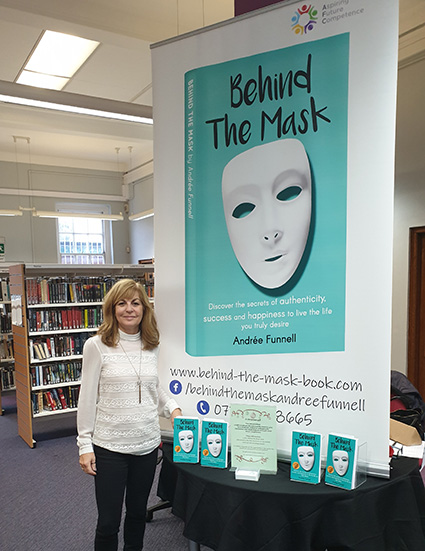 Andree Funnell and Behind the mask book